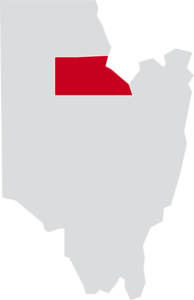 Map of Corinth, Saratoga County