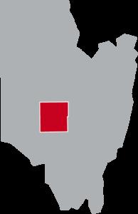 Map of Milton, Saratoga County