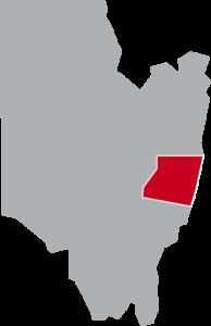 Map of Saratoga, Saratoga County