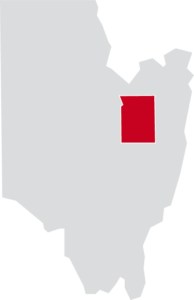 Map of Wilton, Saratoga County