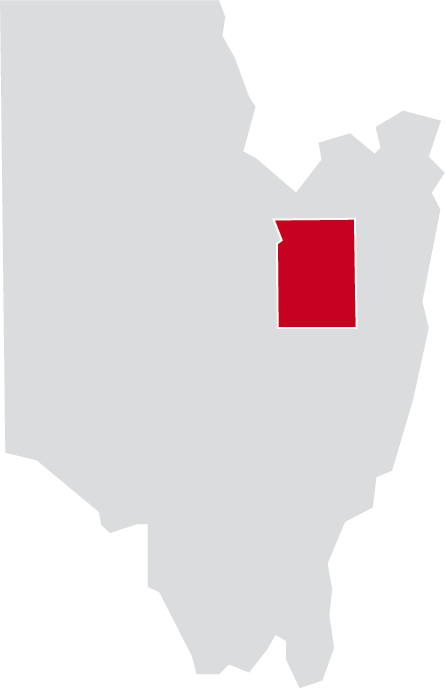 Map of Wilton, Saratoga County