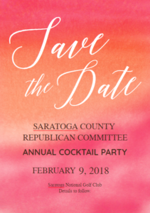 2018 GOP Cocktail Fundraiser Save the Date